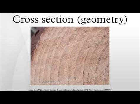 cross section in geometry cross section geometry youtube