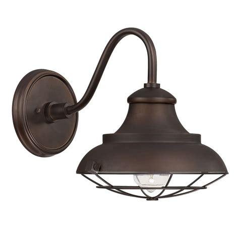 Outdoor Barn Lighting Capital Lighting 4561bb Burnished Bronze Outdoor Collection 1 Light Barn Light Sconce