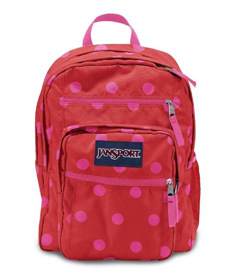 jansport big student backpack polka dots home luggage travel gear backpacks