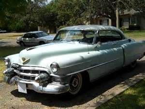 1953 cadillac series 62 coupe with factory air