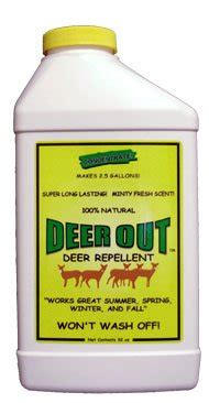 deer out 32oz concentrate deer repellent 894606000034 toolfanatic com
