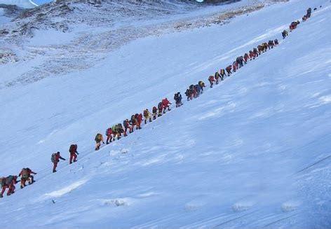crowds on mt. everest » eight summits