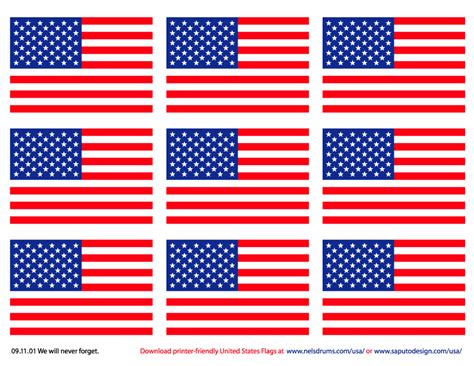 free printable usa banner printer friendly american flags