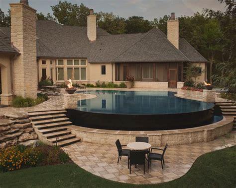 infinity pool backyard 21 landscape tiny backyard infinity pool style tips
