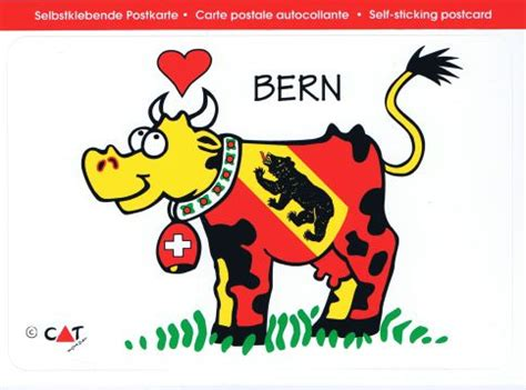 Sticker Drucken Bern by Bern Be Kuh Postkarten Sticker