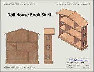 dollhouse bookcase woodworking plans diy blueprint plans