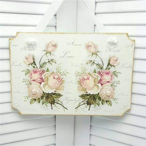 cottage chic decor shabby chic wall decor cottage decor