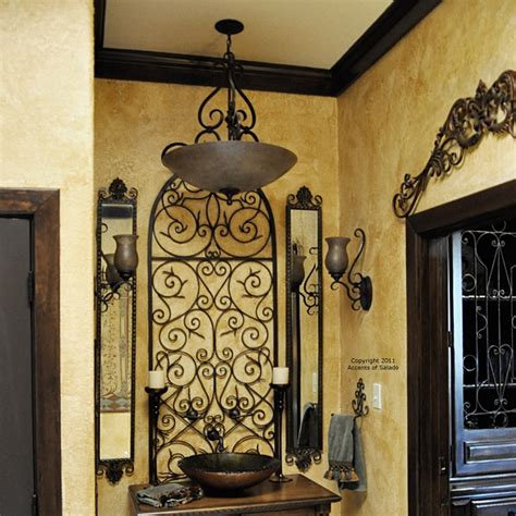 more wrought iron wall decor mediterranean style