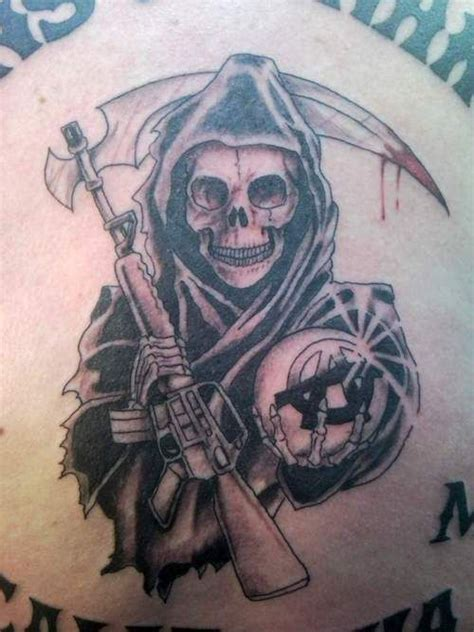 soa tattoos soa reaper tattoos reaper