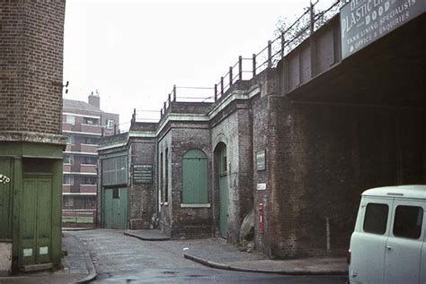 1960 House Disused Stations Limehouse Station