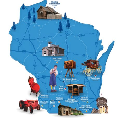 visit wisconsin museums  historic sites wisconsin