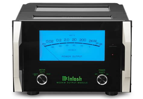 Power Lifier Monoblock mcintosh mc2kw monoblock power lifier for in store purchase only