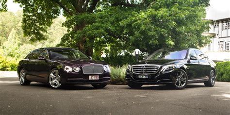 mercedes bentley mercedes s600 l v bentley flying spur w12