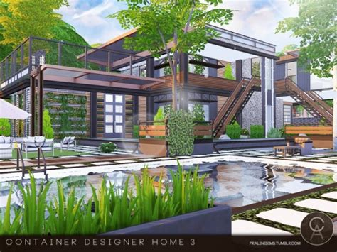 the sims resource container designer home 3 by