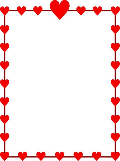 valentines day border clip free valentines day clipart for teachers http
