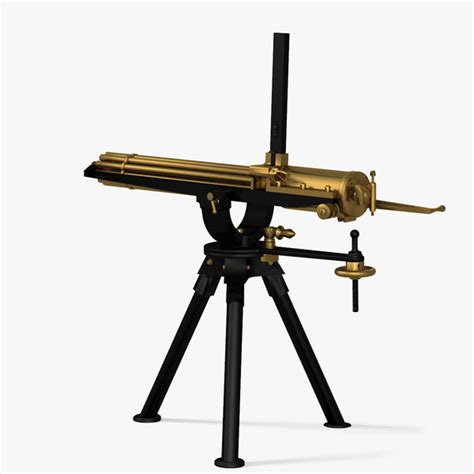 Kaos 3d Gafting Gun 3d gatling gun