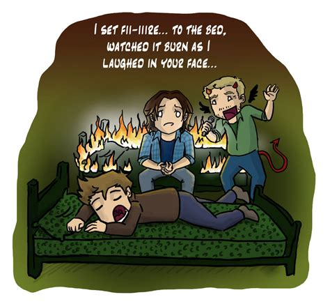 supernatural bed set supernatural castiel memes