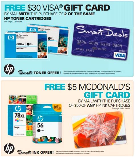 1 Dollar Visa Gift Card - pin by hi tech office products on offers rebates pinterest
