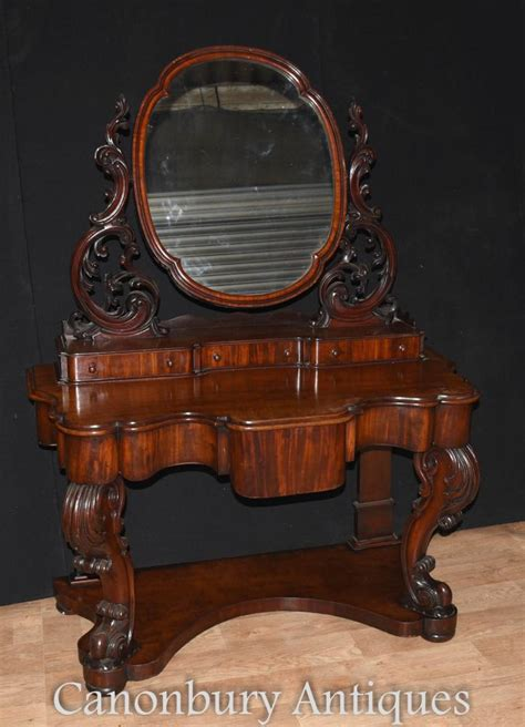 Antique Desk With Mirror by Antique Duchess Dressing Table Mirror Desk Set 1860