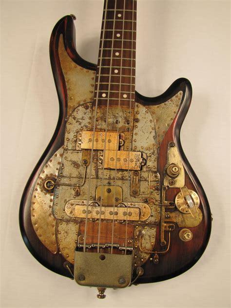 Handmade Bass - greyhoundcaster bass guitar tony cochran custom electric