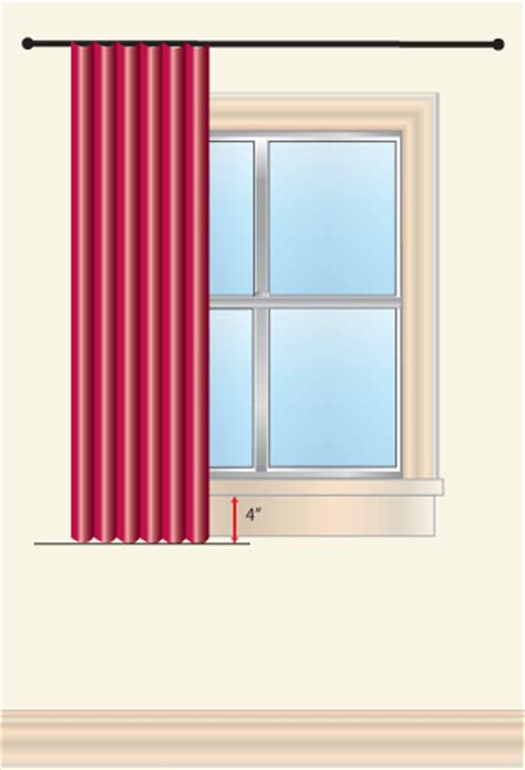 drapery lengths how to measure for curtains sew4home