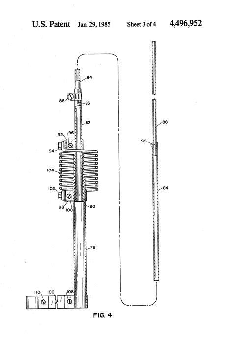 antenna trap capacitor patent us4496952 trap vertical antenna with parallel l c circuits for broadbanding