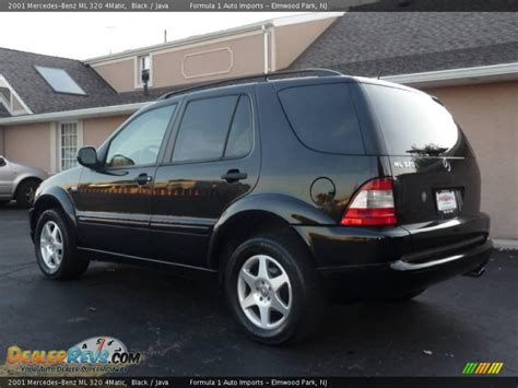 2001 mercedes ml 320 2001 mercedes ml 320 4matic black java photo 4