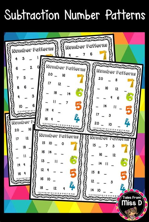 pattern matching only numbers best 25 number patterns worksheets ideas on pinterest