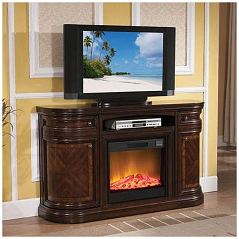 60 quot cherry media fireplace at big lots big lots
