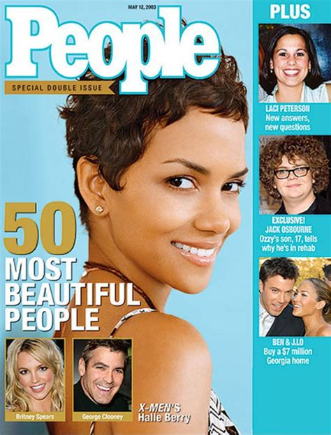 Magazine Bosses Back At Halle Berry by Magazine S Most Beautiful In The World A