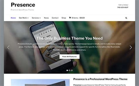 40 Best Simple Wordpress Themes You Should Try 2017 Simple Website Templates For Beginners