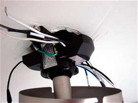 install a ceiling fan remote module