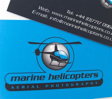 Solent Kitchen Design Business Cards For Marine Helicopters By Tinstar Design