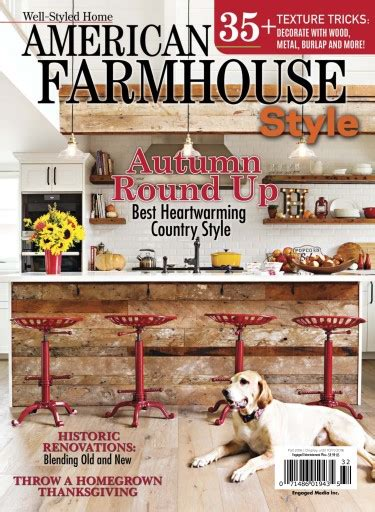 cottages and bungalows magazine american farmhouse 2016