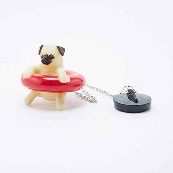 plugged in pug pug bath accessory from outfitters