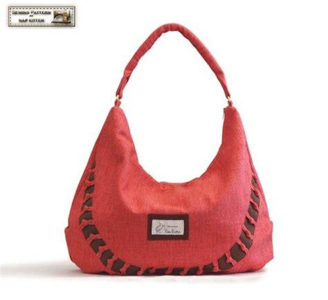 sewing pattern hobo bag tote bag pattern zippered hobo bag pattern