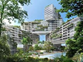 the interlace jenga like apartments for singapore