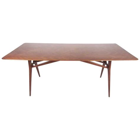 Italian Style Dining Table Midcentury Italian Dining Table In The Style Of Ico Parisi For Sale At 1stdibs