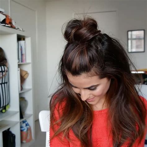 Hairstyles To Hide Greasy Hair by Best 25 Lazy Day Hairstyles Ideas On