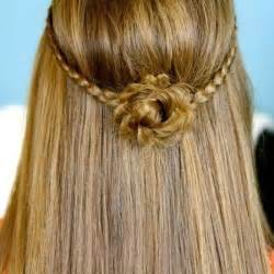 quick and easy cute hairstyles for long