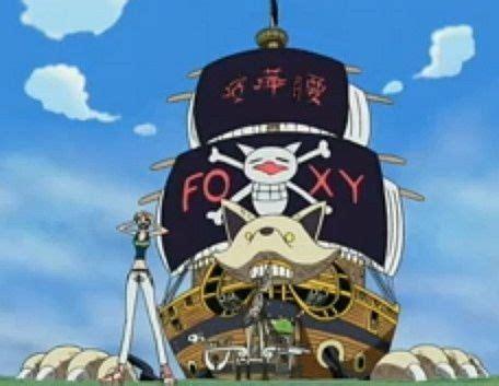 film one piece foxy foxy boat in one piece minecraft project