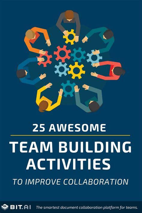 best team activities best 25 best team building activities ideas on