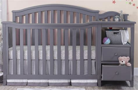 Baby Crib On Sale Grey Convertible Crib And Furniture Laluz Nyc Home Design