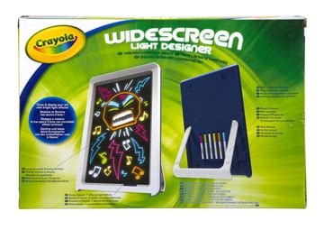 crayola light up board can light up their with crayola s widescreen