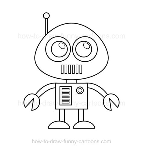 Drawing Robot by How To Draw A Robot