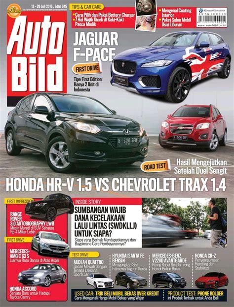 Auto Bild 377 Majalah Otomotif koran dan majalah