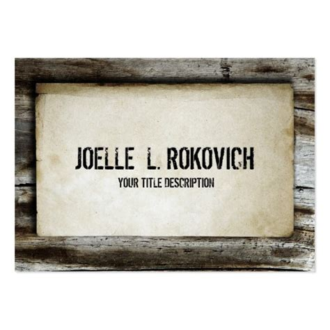 Rustic Country Business Card Templates Bizcardstudio Com Rustic Business Card Template Free