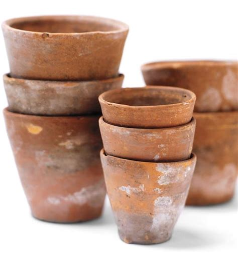 terracotta pots how to age terra cotta pots 4 different ways better housekeeper