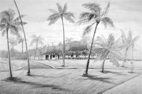 Landscape Drawing Byuh Drawing Landscape Drawing Semi