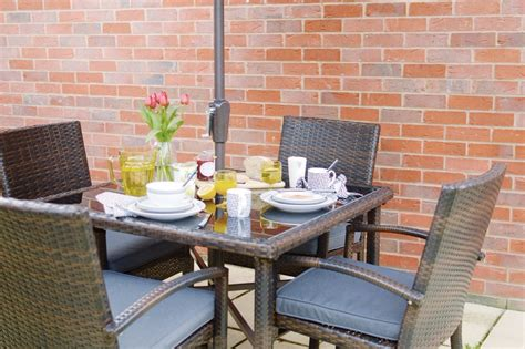 Jakarta Patio Set by Outdoor Dining With Jakarta Patio Set George At Asda